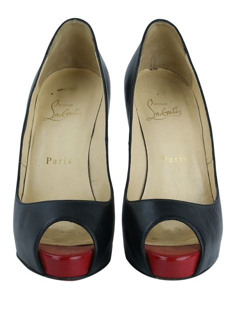 Sapato Christian Louboutin Very Prive Preto