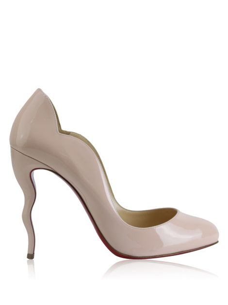Sapato Christian Louboutin Wawy Dolly Nude
