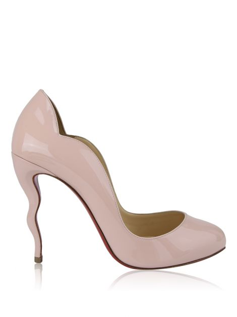 Sapato Christian Louboutin Wawy Dolly Rosa