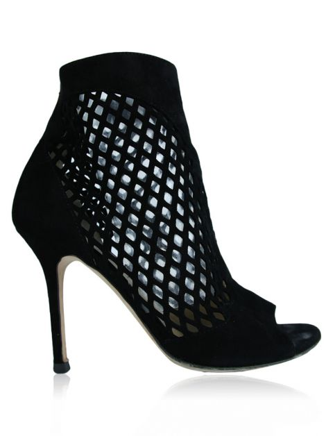 Sapato Jimmy Choo Dane Lattice Preto