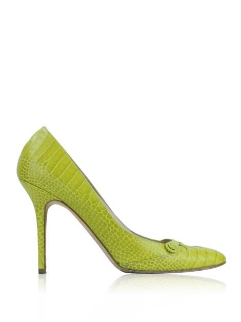Sapato Jimmy Choo Croco Siciliano