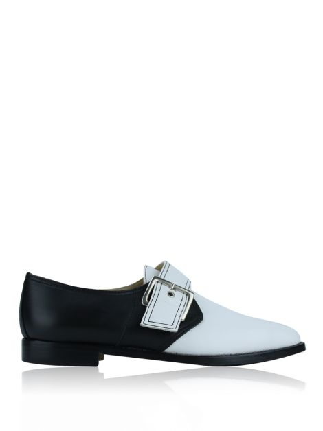 Sapato Manolo Blahnik Oxford Bicolor
