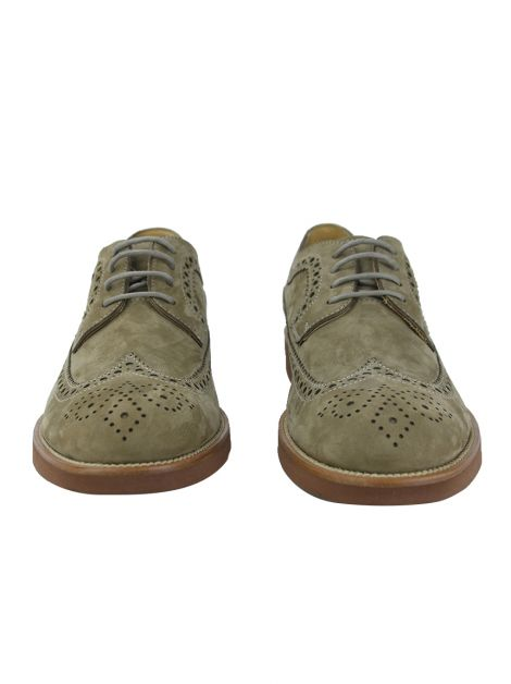 Sapato Tod's Wing-Tip Brogue Camurça Masculino