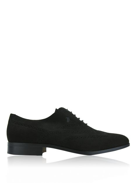 Sapato Tod's Wing-Tip Lace-Up Verde Masculino