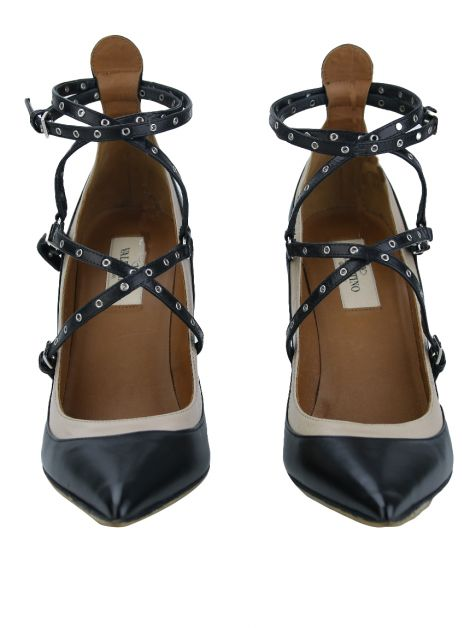 Sapato Valentino Love Latch Preto