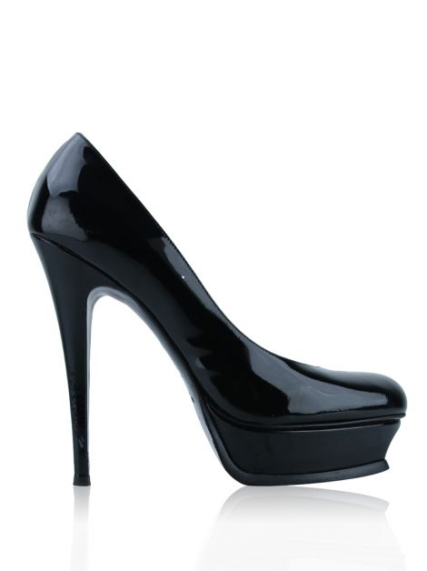Sapato Yves Saint Laurent Tribute 105 Pump Preto