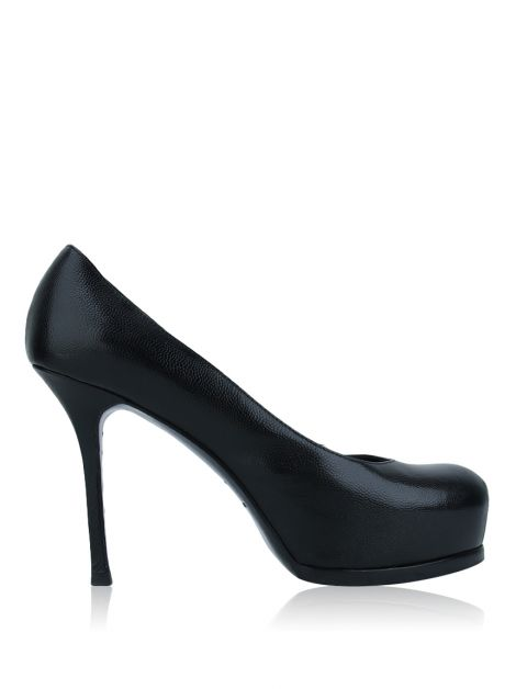 Scarpin Yves Saint Laurent Tribute Preto