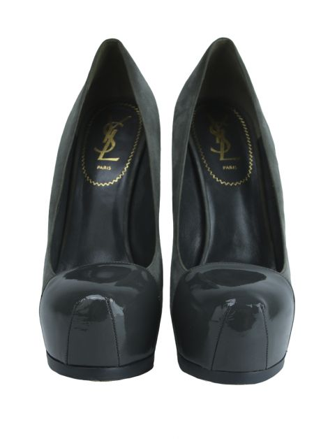 Sapato Yves Saint Laurent Tribute Two Cinza