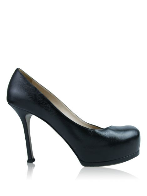 Sapato Yves Saint Laurent Tribute Two Preto