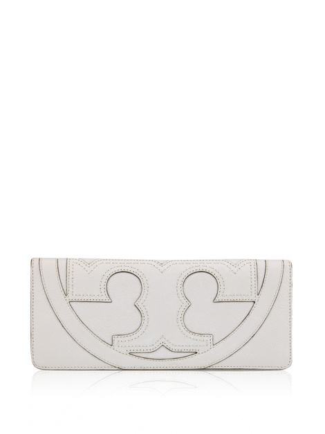Clutch Tory Burch Serif Branca
