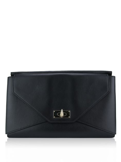 Clutch Givenchy Shark Tooth Preta
