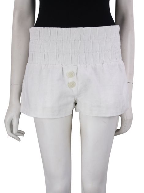 Shorts A. Niemeyer Linho Off-White