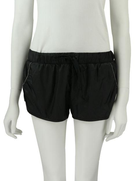 Shorts Adidas by Stella McCartney Curto Preto