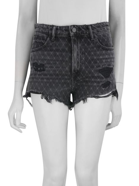 Shorts Alexander Wang Bite Estampado