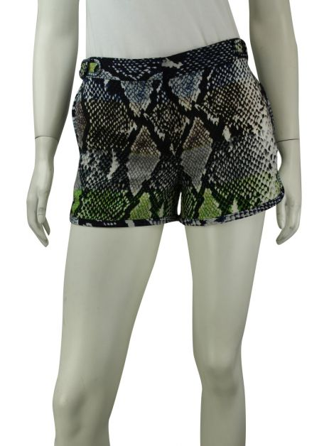 Shorts Diane Von Furstenberg Tiffany Animal Estampada