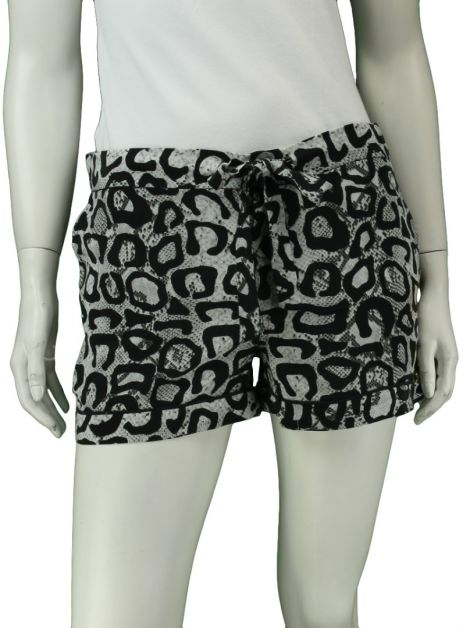 Shorts Equipment Seda Estampado