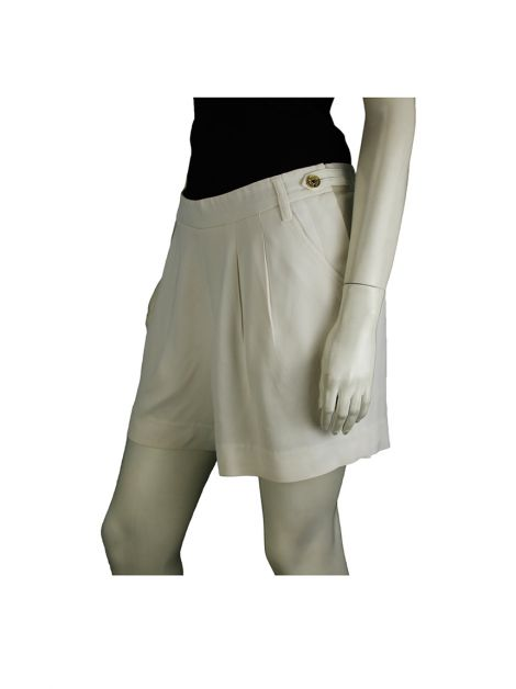 Shorts Forum Crepe Off-White