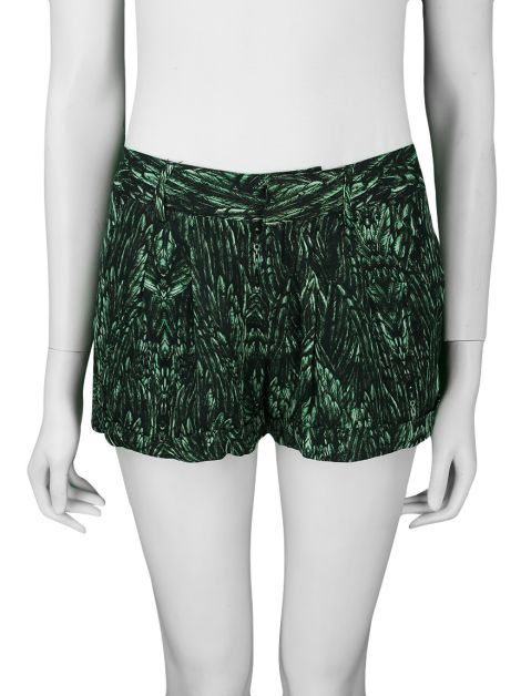 Shorts Haute Hippie Seda Estampada