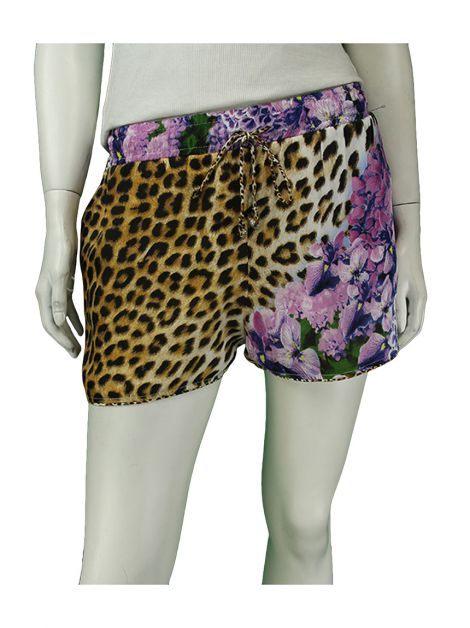 Shorts Just Cavalli Curto Estampado