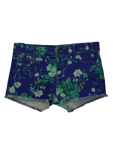 Shorts Mixed Estampa Floral