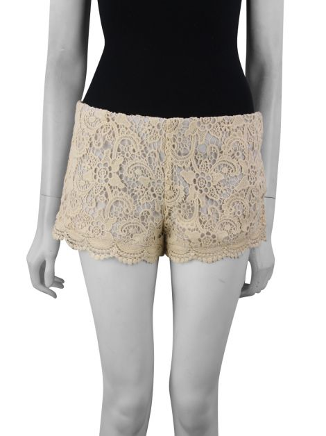 Shorts Mixed Renda Nude