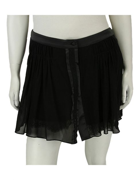 Shorts Mixed Renda Preto