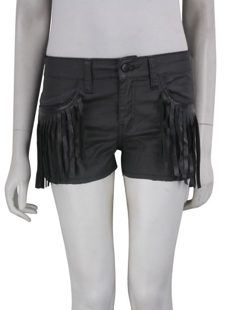 Shorts Mixed Resinado Preto