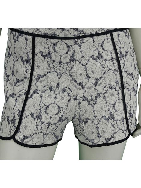 Shorts Mixed Textura Renda