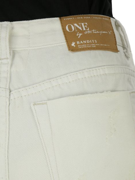 Shorts One By OneTeaspoon Bandits Jeans Branco