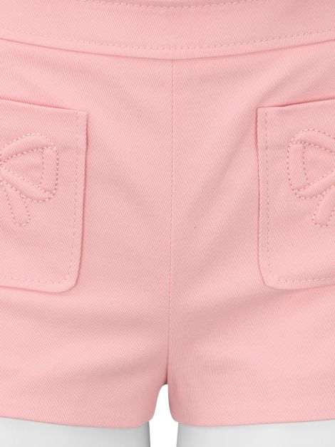 Shorts Red Valentino Tecido Rosa