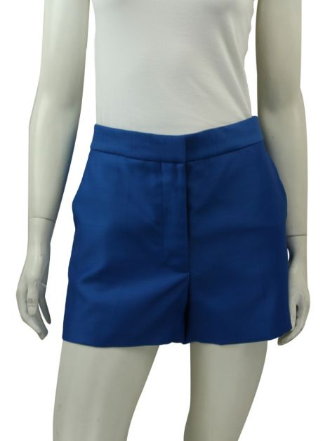 Shorts Stella McCartney Acetinado Azul