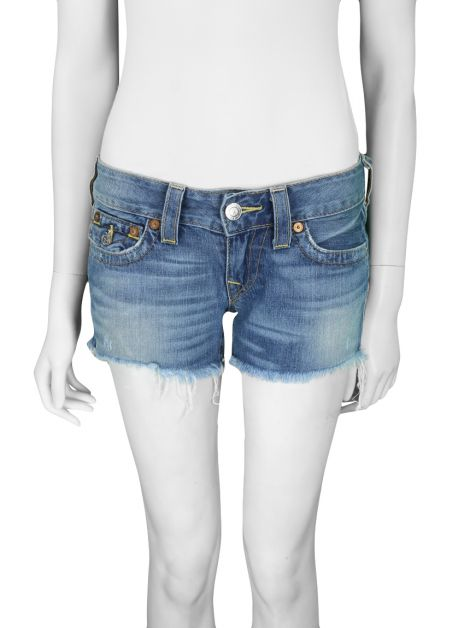 Shorts True Religion Jeans Desfiado