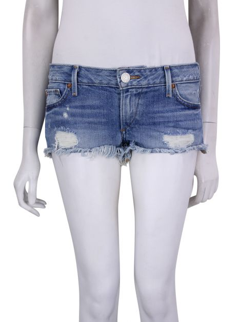 Shorts True Religion Jeans Azul