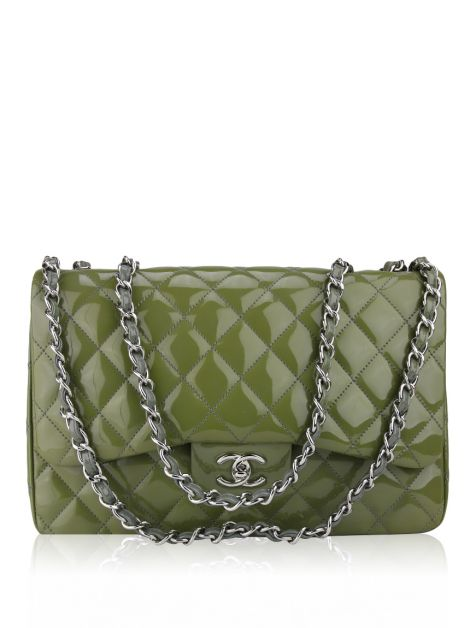 Bolsa Chanel Single Flap Verniz