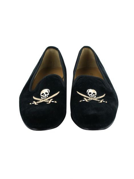 Loafer Stubbs & Wootton Skull Preto