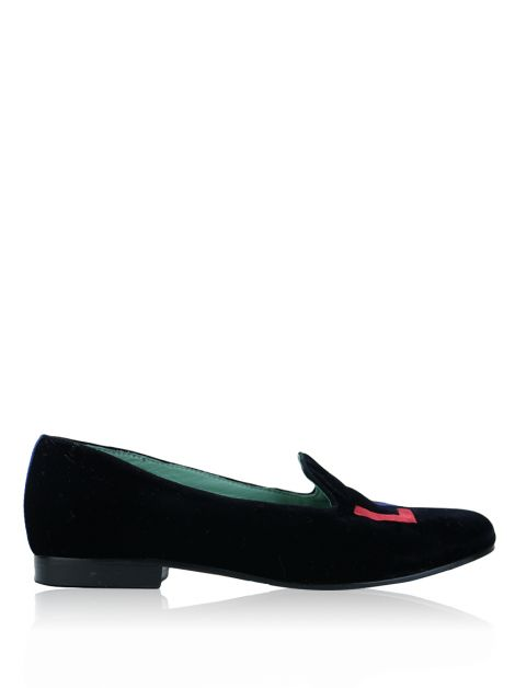Slipper Blue Bird Love Preto