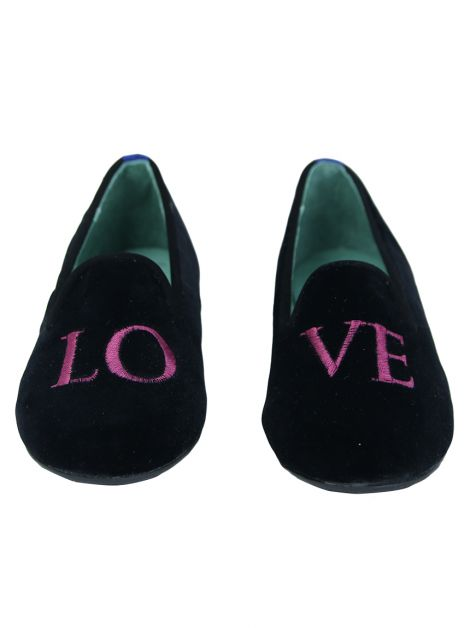 Slipper Blue Bird Love Preto Infantil