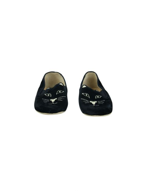 Slipper Charlotte Olympia Kitty Veludo Baby