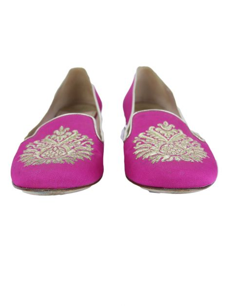 Slipper Miu Miu Crystal Rosa