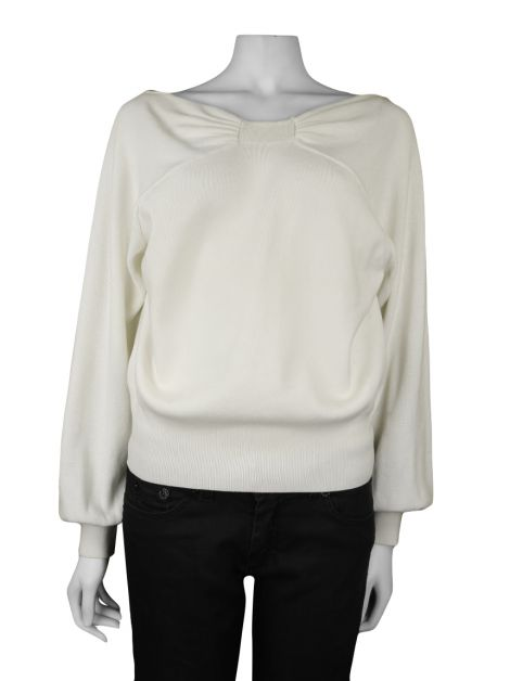 Sweater Burberry Tricot Branco