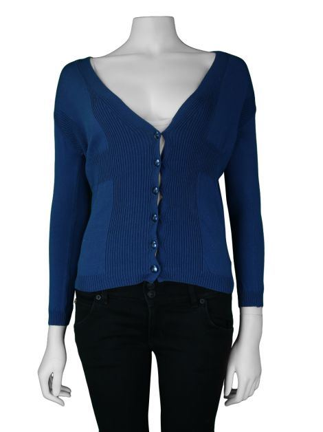 Sweater M Missoni Tricot Azul