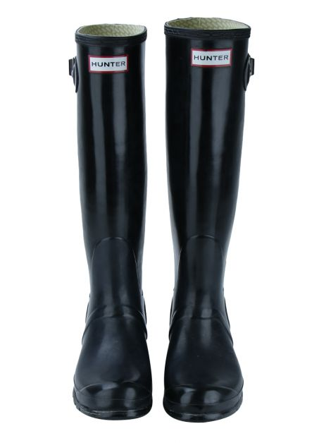 Galocha Hunter Tall Gloss Preto