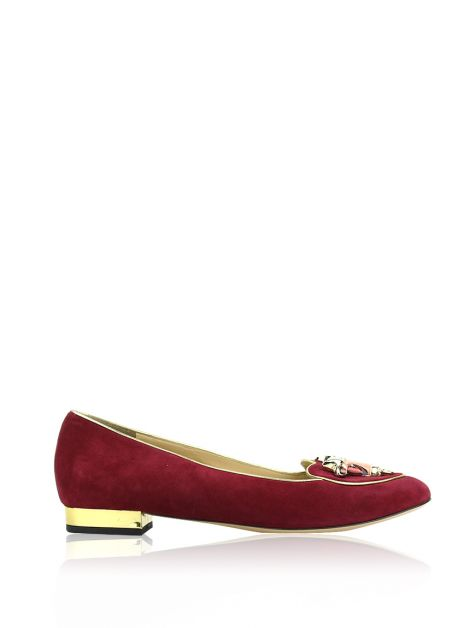 Slipper Charlotte Olympia Taurus Suede