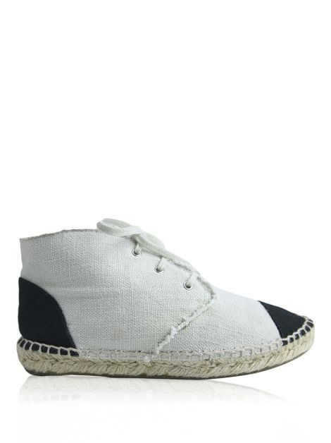 Tênis Chanel Espadrille Off-White