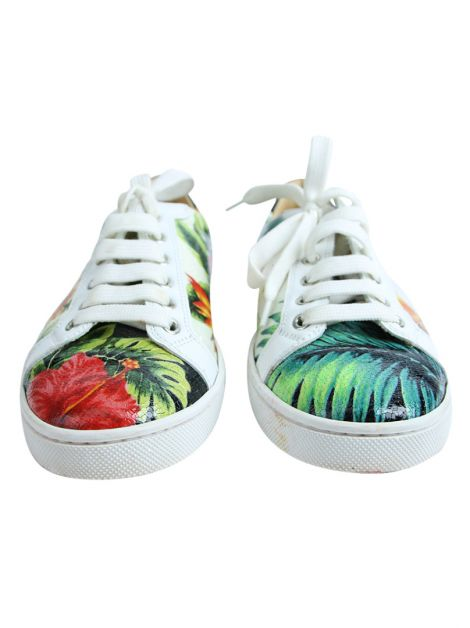 Tênis Christian Louboutin Seava Hawaii Low-Top Sneaker Floral