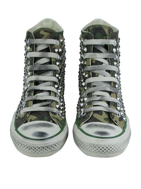 Tênis Converse X Muffin All Star Chuck Tailor Camo-Steel 2.0