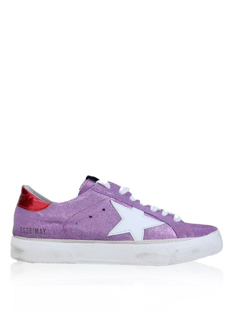Tênis Golden Goose Deluxe Brand May Rosa