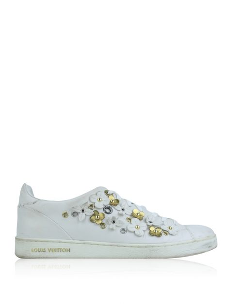 Tênis Louis Vuitton Frontrow Flowers Branco