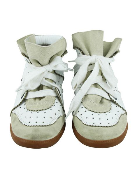 Tênis Sneakers Isabel Marant Couro Branco