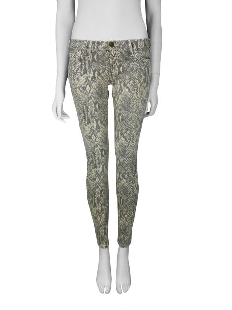Calça Current Elliott The Ankle Skinny Animal Print